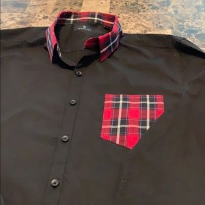 7Diamonds men's button down shirt
